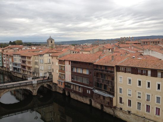 Grand Hotel de Castres: View from our Suite (411)