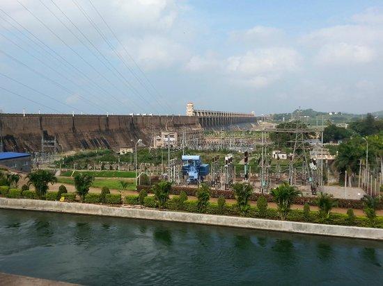 Hospet, India: Dam