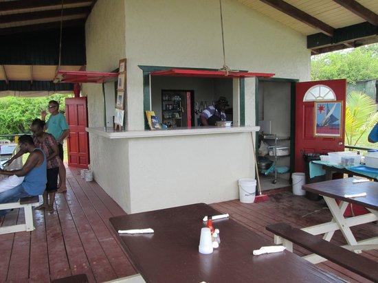bahía de Simpson, St. Maarten: lunch place