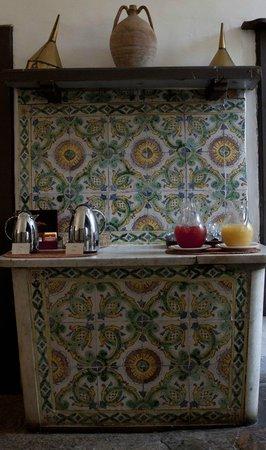 Masseria Astapiana Villa Giusso: kitchen wall