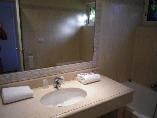 Calvi Hotel: Bagno