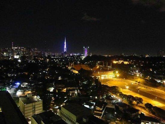 Transamerica Classic Higienopolis: Vista do alto do hotel para o Pacaembu.