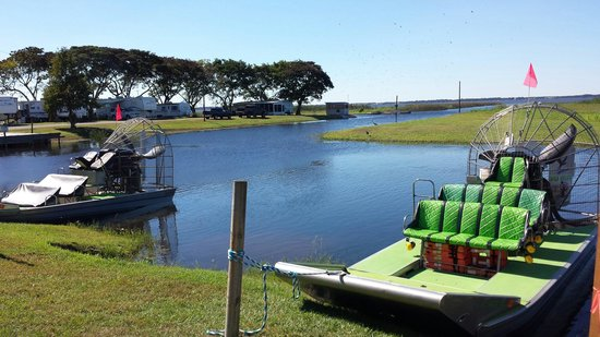 Wild Willy's Airboat Tours: Kens boat
