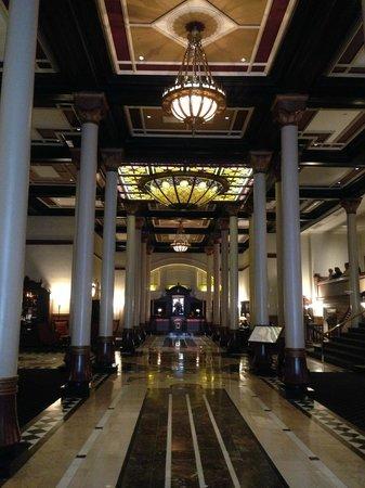 The Driskill : lobby