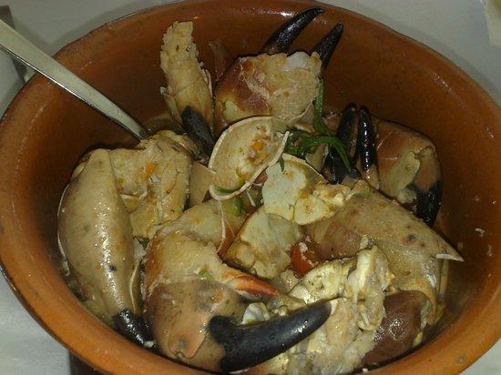 Tortuga : Granchio al rosmarino, crab