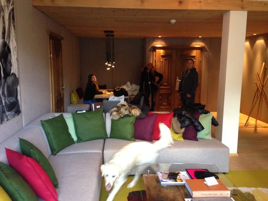 Hotel Bergland: Living Room
