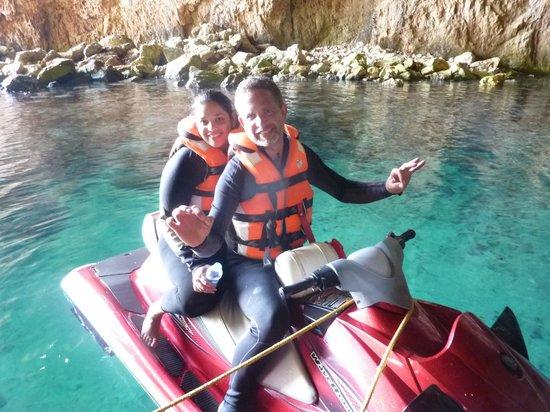 Fun & Quads Adventure: jet ski ride Denia