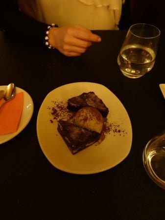 La Forcola: chocolate brownie