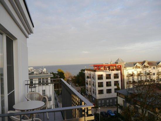 Steigenberger Grandhotel und Spa: Aussicht Standardzimmer 5. Etage