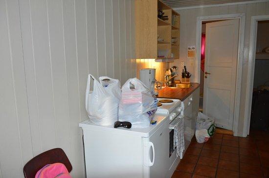 Sandvik Camping: Angolo cottura