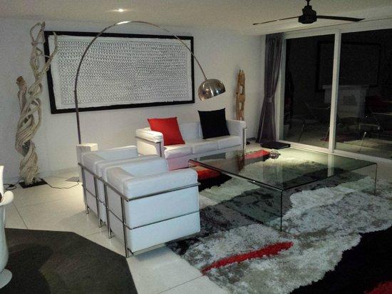Infinity Residences & Resort Koh Samui: Lounge in 3 bedroom apt
