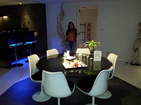 Infinity Residences & Resort Koh Samui: Dining in 3 bedroom apt
