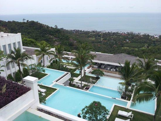 Infinity Residences & Resort Koh Samui : View from 3 bedroom apt