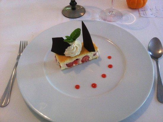 Hotel Restaurant Castet : fraisier