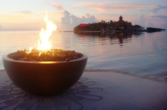 Sandals Royal Caribbean Resort and Private Island: Atardecer