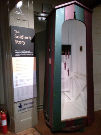 Derby Museum and Art Gallery: Sentry box