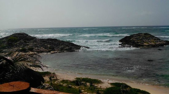 El Pez Colibri Boutique Hotel: View from Room Number 3