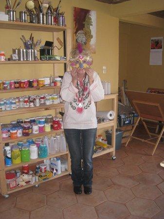 Cristi Fer Art Gallery and Workshops: Creating in the Art Studio
