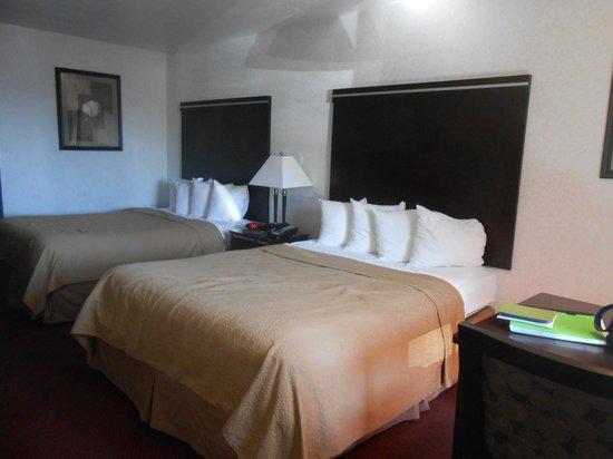 Quality Inn South Bluff: Bedroom