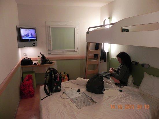 Ibis Budget Deauville : la chambre