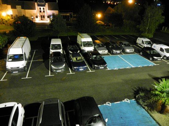 Ibis Budget Deauville: le parking