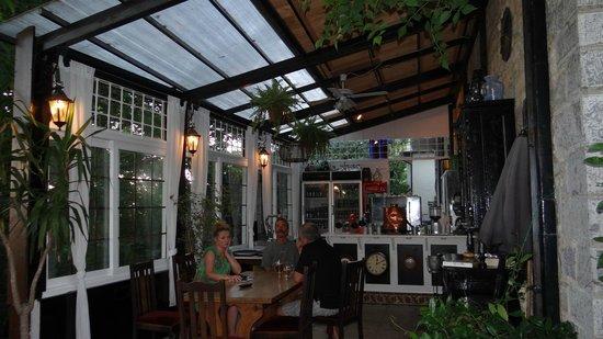 The Lost Unicorn Hotel: The restaurant