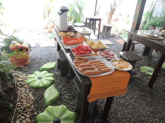 Pousada Mirante Do Forte: sala do café da manhã