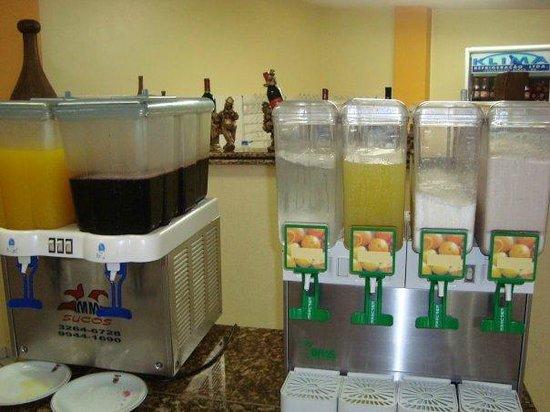 Hotel Vieiras: zumos
