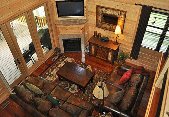 Mountain View Cabins: CASCADES INTERIOR