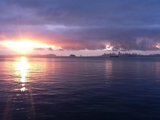 The Inn Above Tide: sunrise