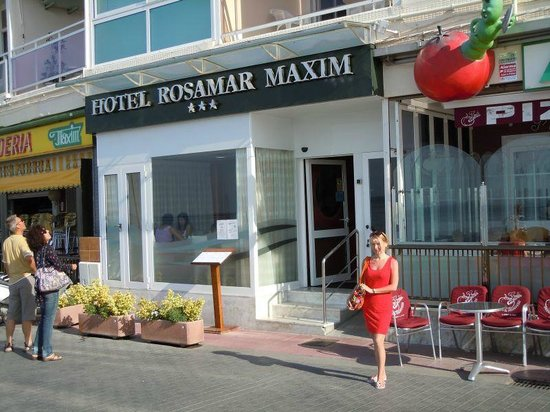 Hotel Rosamar Maxim - Adults Only : Парадный вход