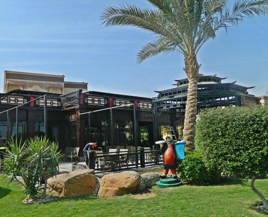 SUNRISE Garden Beach Resort -Select-: азиатский ресторан