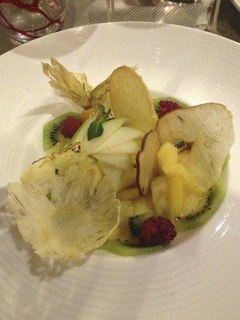 Hyatt Regency Nice Palais de la Mediterranee: The best fruit salad I have ever had