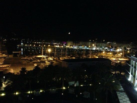 Aguas de Ibiza: Вид из бара на крыше отеля