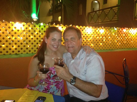 Harlequin Restaurant: Father and Daughter