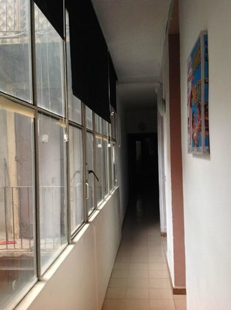 B&B Abazia: Hallway in apartment