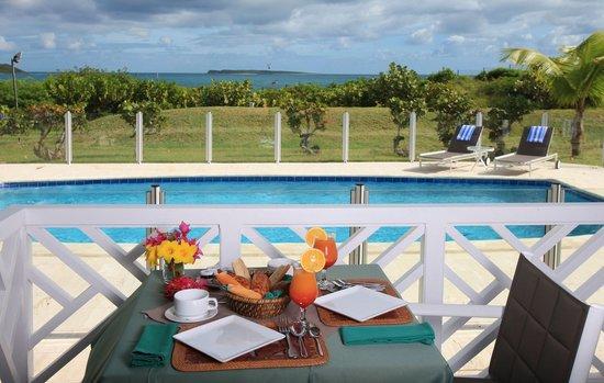 Esmeralda Resort : Terrace & Pool Ocean View