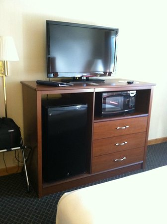 Lynina Inn: TV/fridge/microwave