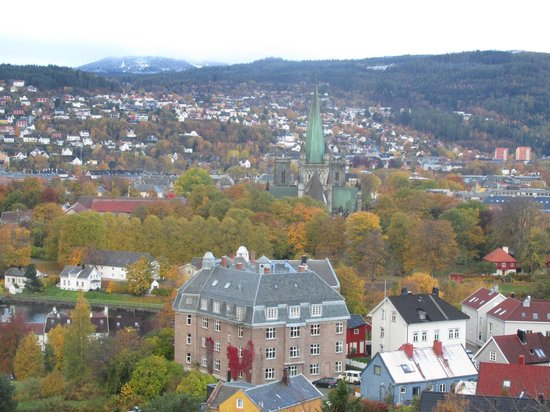 Kristiansten Fortress : View  from the top