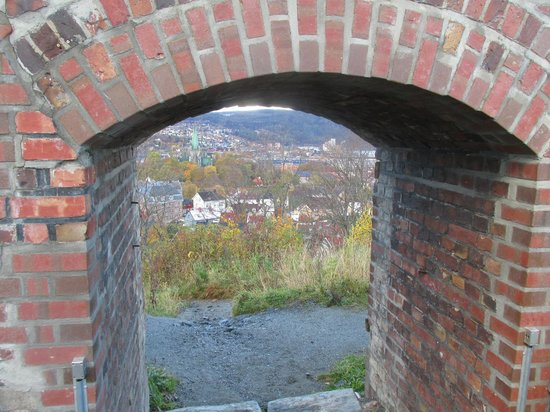 Kristiansten Fortress : Another view from the fort