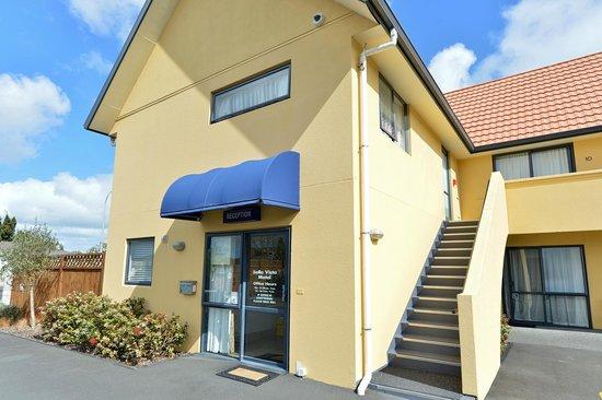 Bella Vista Motel Whangarei: Bella Vista reception