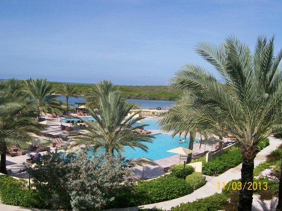 Santa Barbara Beach & Golf Resort, Curacao : View from Lobby