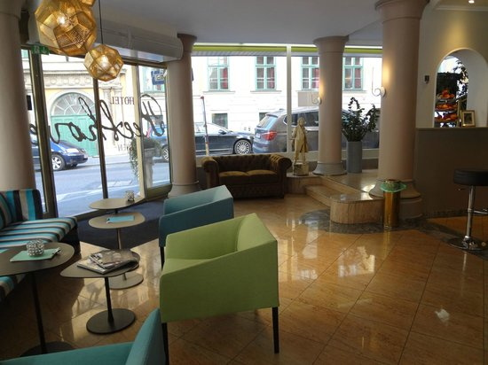 Hotel Beethoven Wien: Reception area