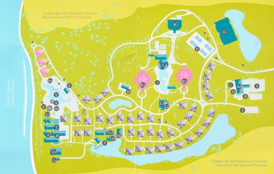 Map Of Resort Picture Of The Westin Golf Resort Amp Spa