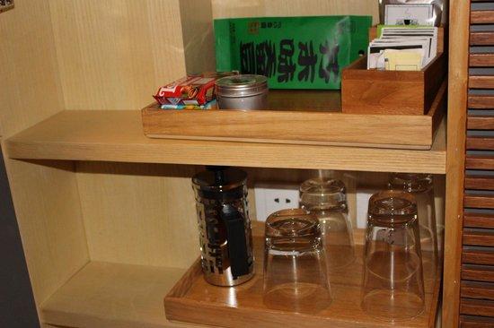 The Opposite House : Free snacks coffee tea etc