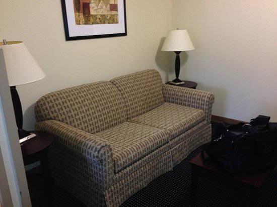 Holiday Inn Express Hotel & Suites Byron: Sofa & Sitting Area