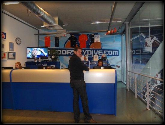 Receptie - Foto di Indoor Skydive Roosendaal, Roosendaal - TripAdvisor