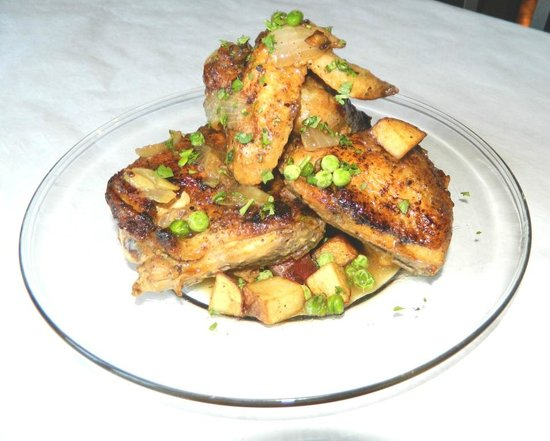 The Marigny : Chicken Clemenceau