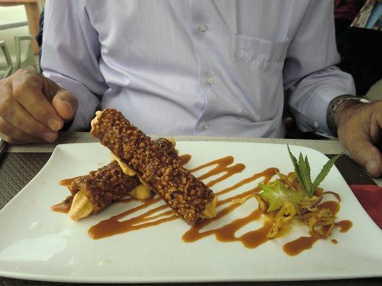 Le Vivier : excellent dessert j'ai oublié le nom