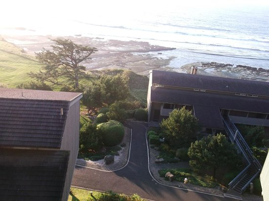 Inn at Otter Crest: Panoramic view room to tide pools